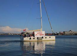 Teknede Sürpriz Evlilik Teklifi Organizasyonu Çeşme