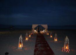 Denizci Fenerleri ile Romantik Evlenme Teklifi Organizasyonu Kuşadası