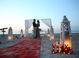 Kırmızı Halıda Sahilde Sürpriz Evlenme Teklifi Organizasyonu