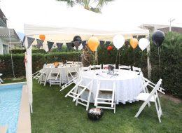 Masa ve Sandalye Kiralama Uçan Balon Süslemeleri İzmir