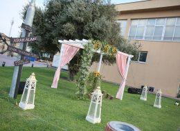 Nikah Organizasyonu Tül ve Çiçek Süslemeleri İzmir Organizasyon