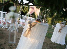 Nikah Organizasyonu Çiçek ve Tül Süslemeleri İzmir