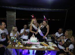 Teknede Doğum Günü Organizasyonu İzmir