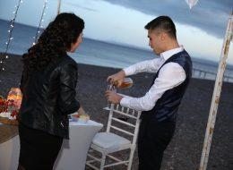 Plajda Evlilik Teklifi Organizasyonu İzmir