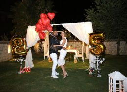 Evlilik Yıl Dönümü Organizasyonu Çeşme
