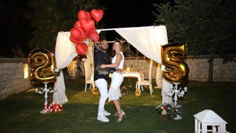 Evlilik Yıl Dönümü Organizasyonu İzmir