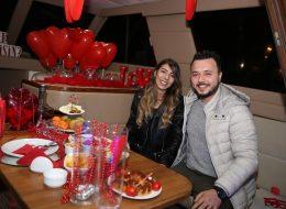 Mutluluk Teknesinde Evlilik Yıl Dönümü Organizasyonu İzmir