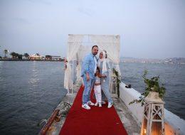Karşıyaka Yelken Kulübünde Evlilik Yıl Dönümü Organizasyonu