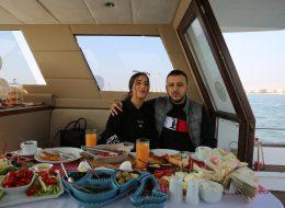 Mutluluk Teknesinde Kahvaltı Organizasyonu İzmir