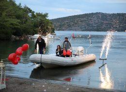 Kumsalda Evlilik Teklifi Organizasyonu Yer Volkanı Hizmeti İzmir