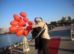 Kordon'da Evlilik Teklifi Organizasyonu Yer Volkanı Temini İzmir