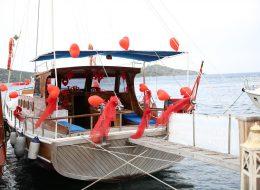 Teknede Evlilik Teklifi Organizasyonu Muğla