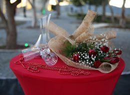 Sürpriz Evlilik Teklifi Organizasyonu Masa Süsleme Alaçatı