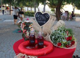 Evlenme Teklifi Organizasyonu Masa Süsleme Alaçatı