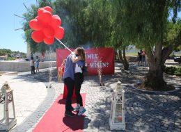Sürpriz Evlilik Teklifi Organizasyonu Alaçatı