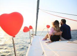 Teknede Evlilik Teklifi Organizasyonu Bodrum