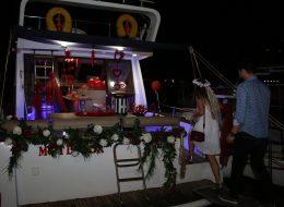 Teknede Sürpriz Evlilik Teklifi Organizasyonu Bodrum