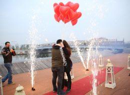 Gün Batımında Evlilik Teklifi Organizasyonu İzmir
