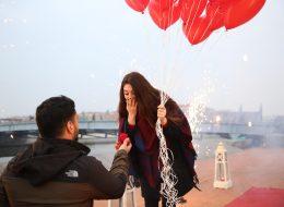 Bursa'da Sürpriz Evlilik Teklifi Organizasyonu