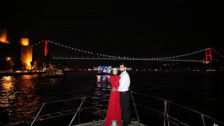 Çırağan Sarayında Evlilik Teklifi Organizasyonu İzmir Organizasyon