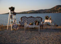 Foça Kumsalda Evlenme Teklifi Organizasyonu