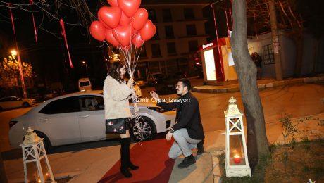 Denizli'de Evlilik Teklifi Organizasyonu