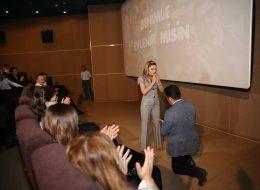 Sinemada Sürpriz Evlilik Teklifi Organizasyonu İzmir