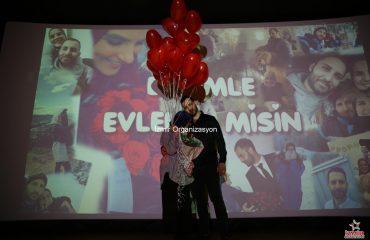 Evlenme Teklifi Fikirleri ve Sinemada Evlilik Teklifi Organizasyonu