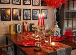 Restoranda Romantik Evlilik Teklifi Organizasyonu ve Masa Süsleme Fikirleri