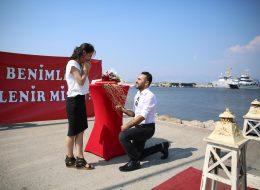 İnciraltı Sürpriz Evlilik Teklifi Organizasyonu