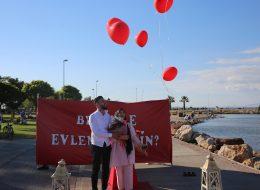 İnciraltında Evlilik Teklifi Organizasyonu İzmir