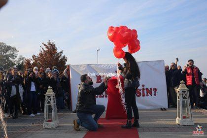İnciraltında Evlilik Teklifi Organizasyonu