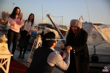 İzmir'de Evlilik Teklifi Organizasyonu İzmir Organizasyon