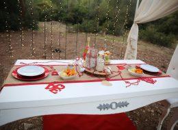 Kumsal'da Evlilik Teklifi Organizasyonu Muğla
