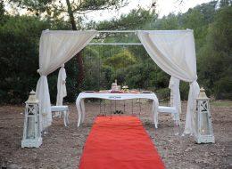 Cennet Koyu'nda Evlilik Teklifi Organizasyonu