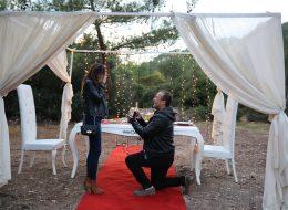 Kırmızı Halı'da Evlilik Teklifi Organizasyonu Muğla