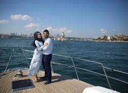 Boğazda Sürpriz Evlenme Teklifi Organizasyonu