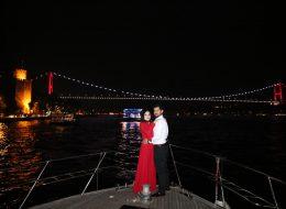 İstanbul Kız Kulesinde Evlilik Teklifi Organizasyonu