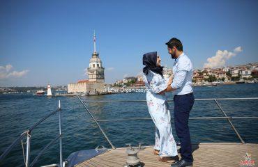 Kız Kulesinde Evlilik Teklifi Organizasyonu