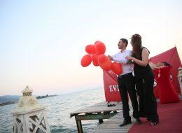 Evlilik Teklifi Organizasyonu Sahilevleri
