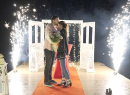 Sahilevlerinde Evlilik Teklifi Organizasyonu İzmir