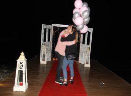 Romantik Evlilik Teklifi Organizasyonu Sahilevleri