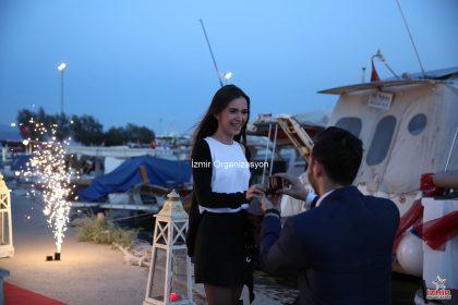 Şaşırtıcı Evlilik Teklifleri İzmir Organizasyon
