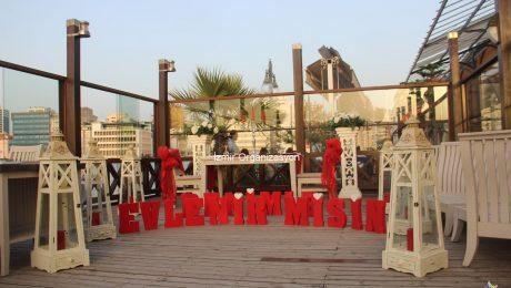 Uşak'ta Evlilik Teklifi Organizasyonu İzmir Organizasyon