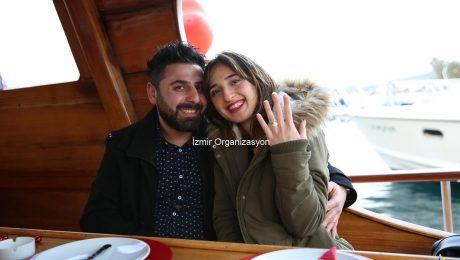 Bodrumda Teknede Evlilik Teklifi Organizasyonu