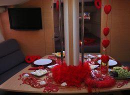 Teknede Evlilik Teklifi Organizasyonu Tekne Süsleme İzmir