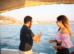 İzmir Çeşmede Sürpriz Evlilik Teklifi Organizasyonu