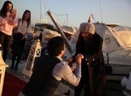 Beklemedik Anda Gelen Evlilik Teklifi Organizasyonu İzmir