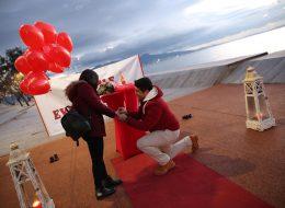Kırmızı Halıda Gelen Evlilik Teklifi Organizasyonu İzmir