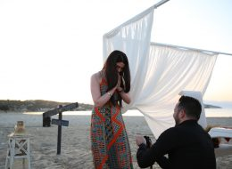 Çeşme Sahilde Evlenme Teklifi Organizasyonu